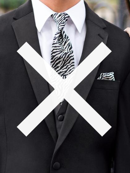 結婚式二次会 ネクタイ