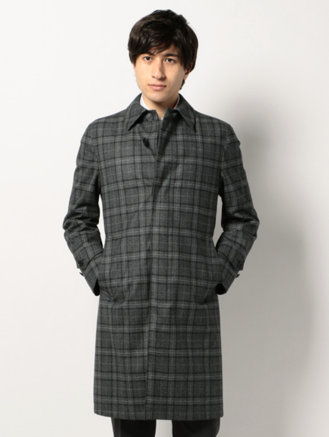 スーツ コート メンズ 秋冬 着こなし