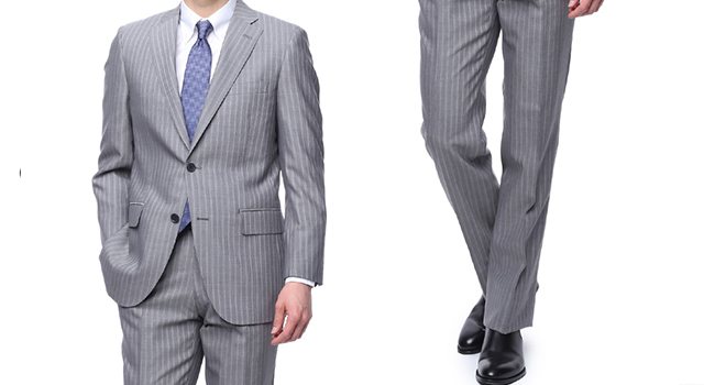 スーツ 着こなし