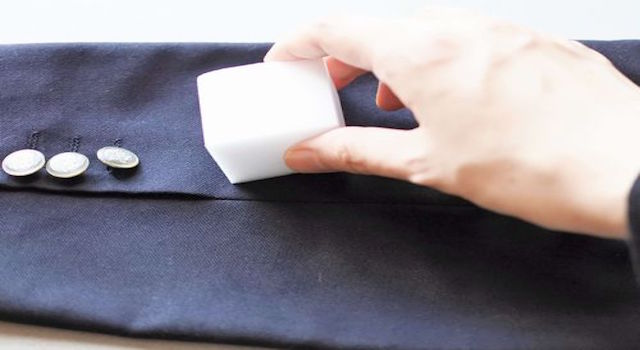 スーツ テカリ