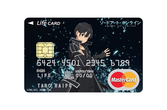 クレジットカード,アニメ