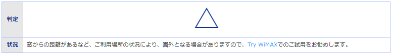 wimax,エリア